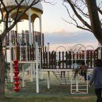 【子供と遊ぶ】田原市の白谷海浜公園はながーい総合遊具に海水浴が大人気!